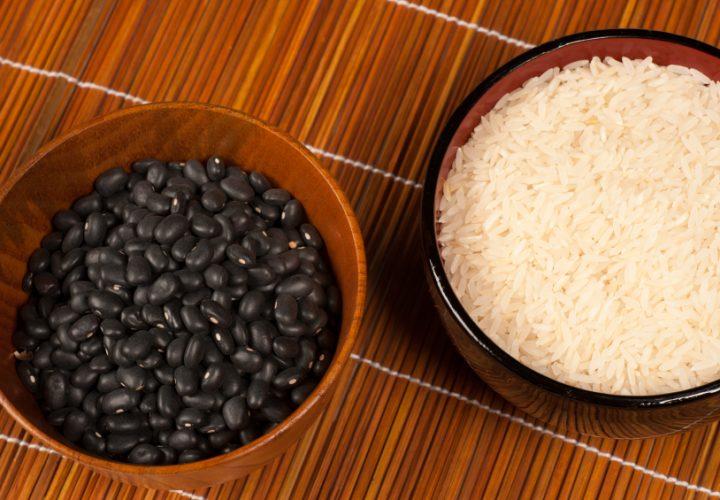 dieta a base de arroz e feijão