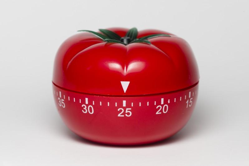 Técnica Pomodoro de gerenciamento do tempo pode ajudar a não perder o foco.