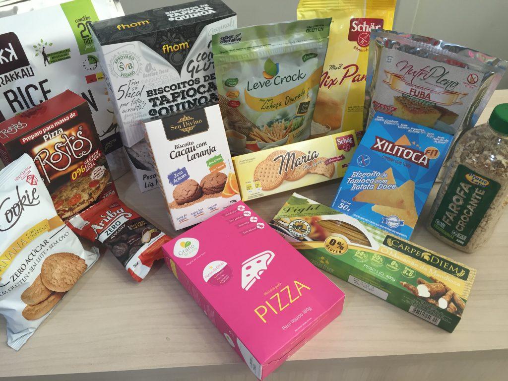 produtos em geral sem gluten