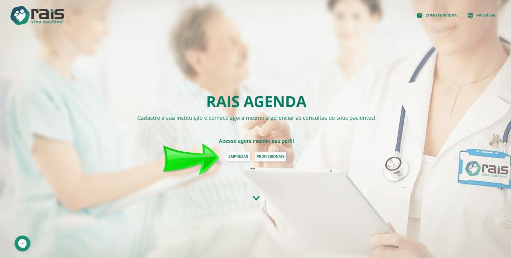 Sistema Rais Agenda - Sistema de agendamento on-line para Saúde, Bem-Estar e Beleza.
